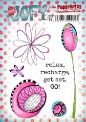 PaperArtsy Stamp - JOFY Collection JOFY76